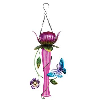 Tulip Chaser Solar Lantern - Pink