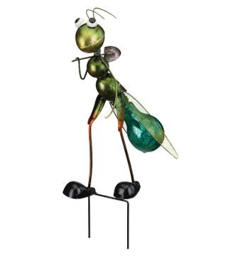 Bug Solar Stake - Grasshopper