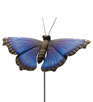 "45"" Butterfly Stake:  Blue Morpho"
