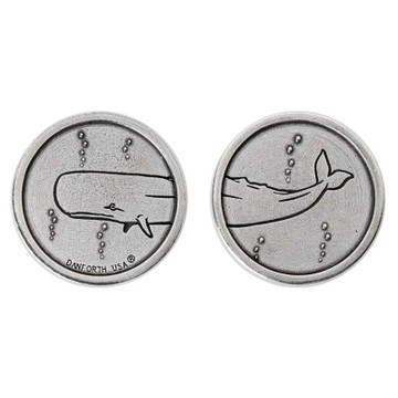 Heads & Whale Tails Pocket Coin