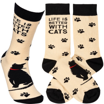 Socks - Life Is Better With Cats