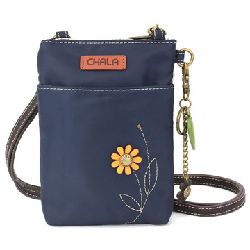 Cell Phone Xbody - Sunflower - Navy