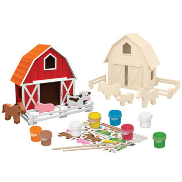 Paint kit layout for country farm