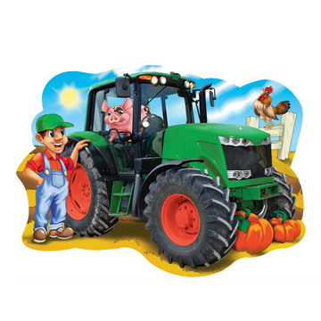 Tractor Town - Giant Tractor 36pc Floor Puzzle