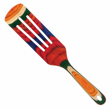 Colorful cooking and serving spatula