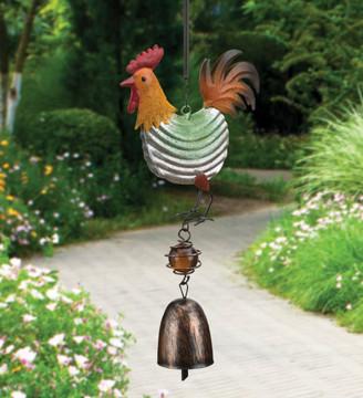 Barn Bouncie Rooster Windchime