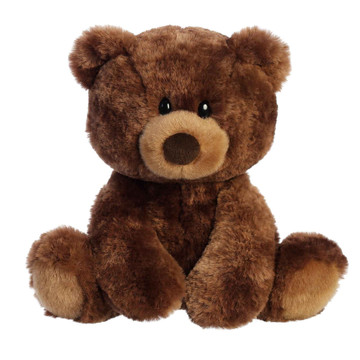 cocoa bear plush toy front view