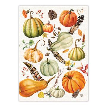 Sweet Pumpkin Kitchen Towel - Set of 2