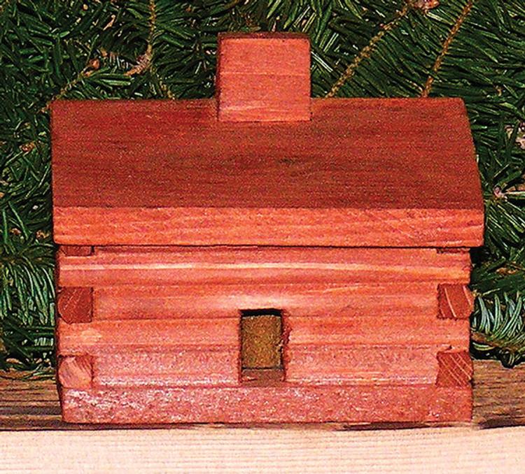 Log Cabin Incense Burner