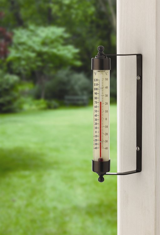 Original Vermont Outdoor Thermometer - Bronze Patina