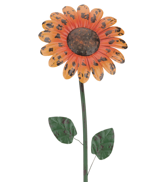 "Rustic Flower Stake 46"" - Daisy"