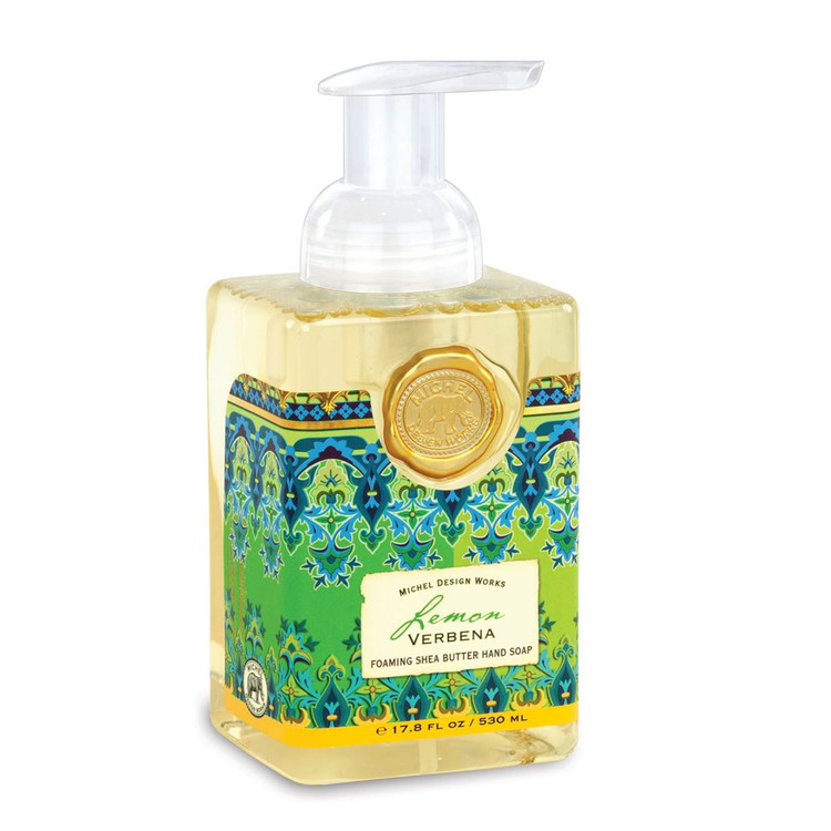 Lemon Verbena Foaming Shea Butter Hand Soap