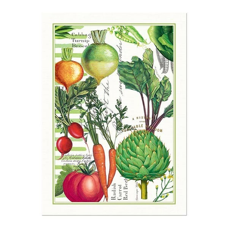 Vegetable Kingdom Kitchen Towel