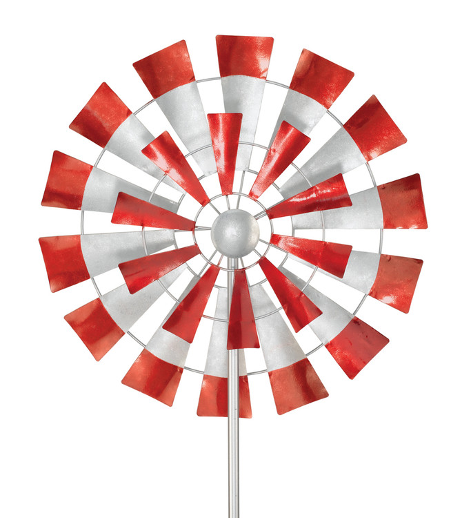 "Kinetic Wind Stake - 26"" Windmill"
