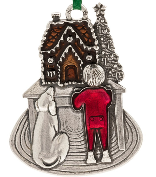 Sweet Anticipation 2017 Pewter Annual Ornament