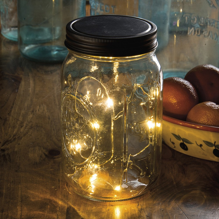 Micro Light Mason Jar Lid