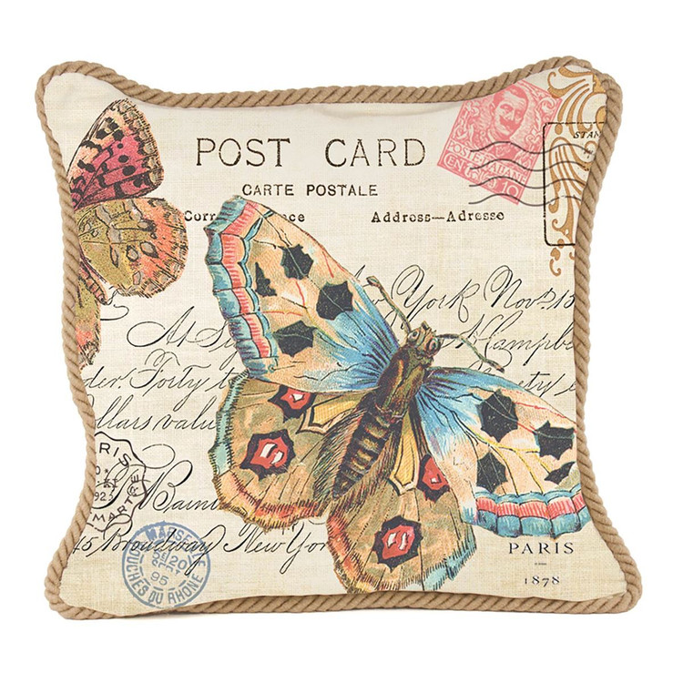 Butterfly Square Pillow