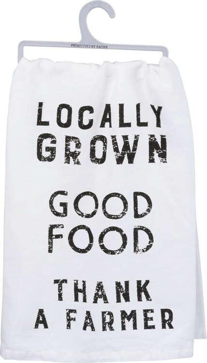 Dish Towel - Locally Grown