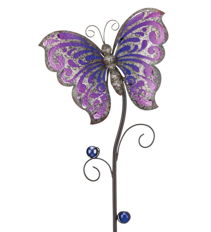 Garden Rustic Stake - Butterfly