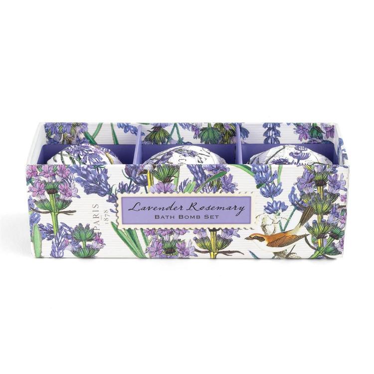Lavender Rosemary Bath Bomb Set