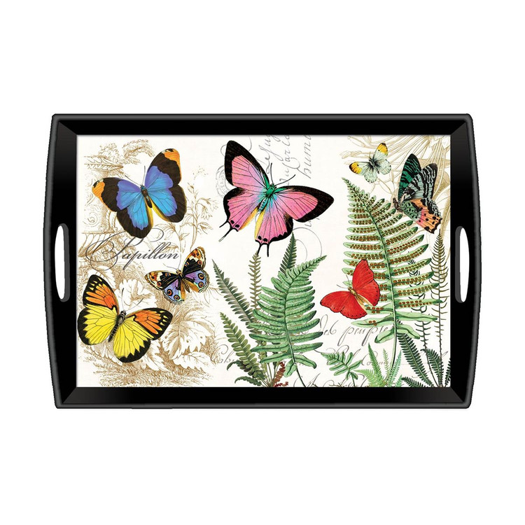 Papillon Wooden Tray