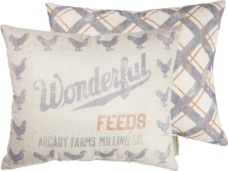 Pillow - Wonderful Feeds Arcady Farms