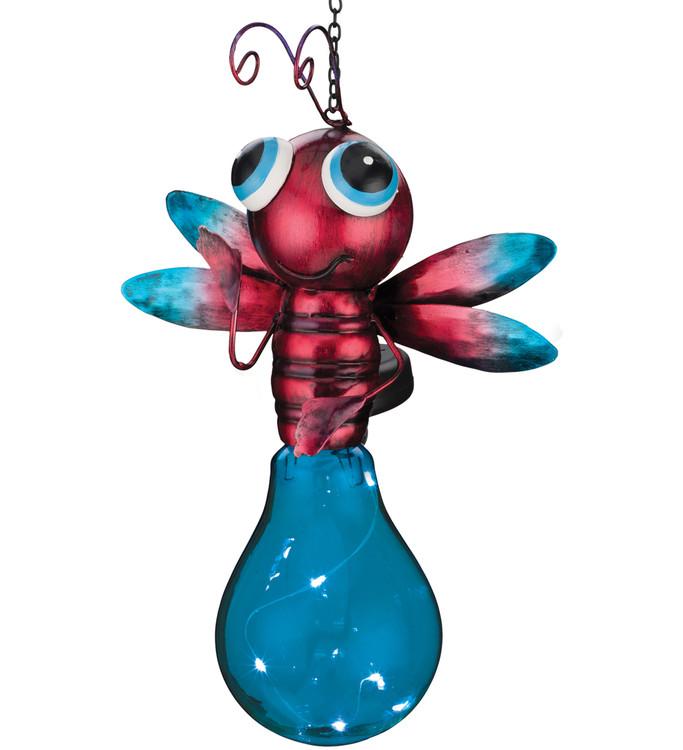 Solar Firefly Lantern - Blue
