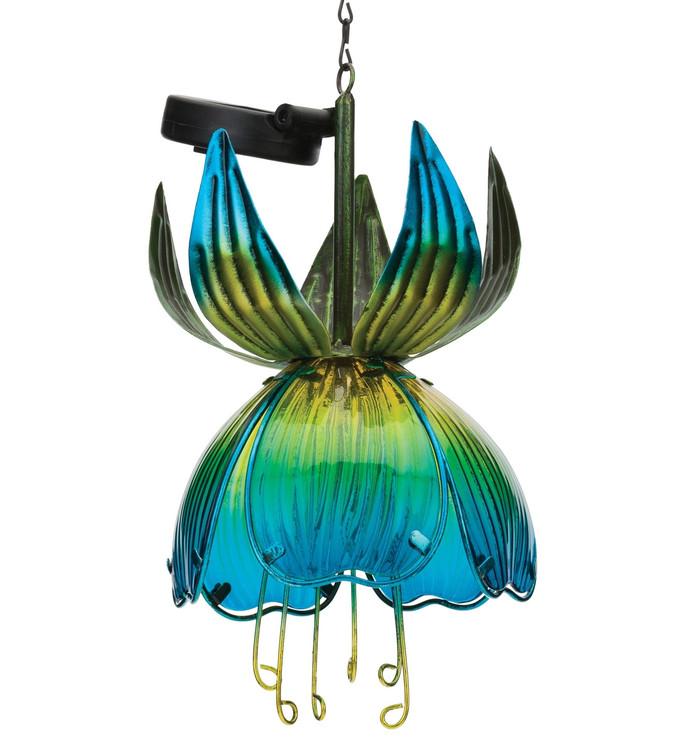 Solar Fuchsia Lantern - Blue/Yellow