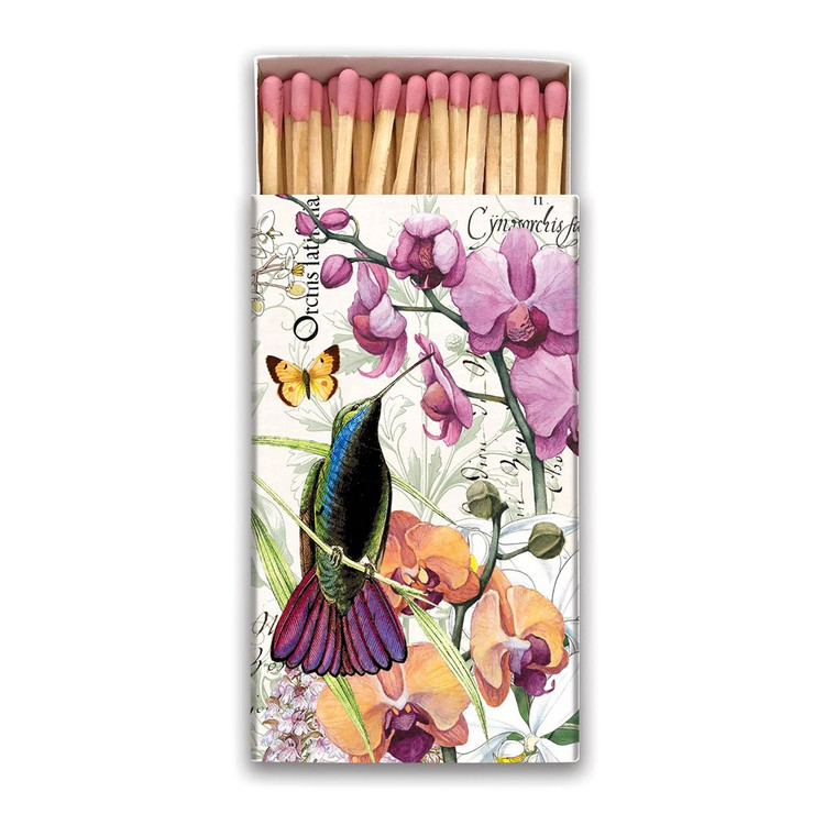 Orchids in Bloom Matchbox