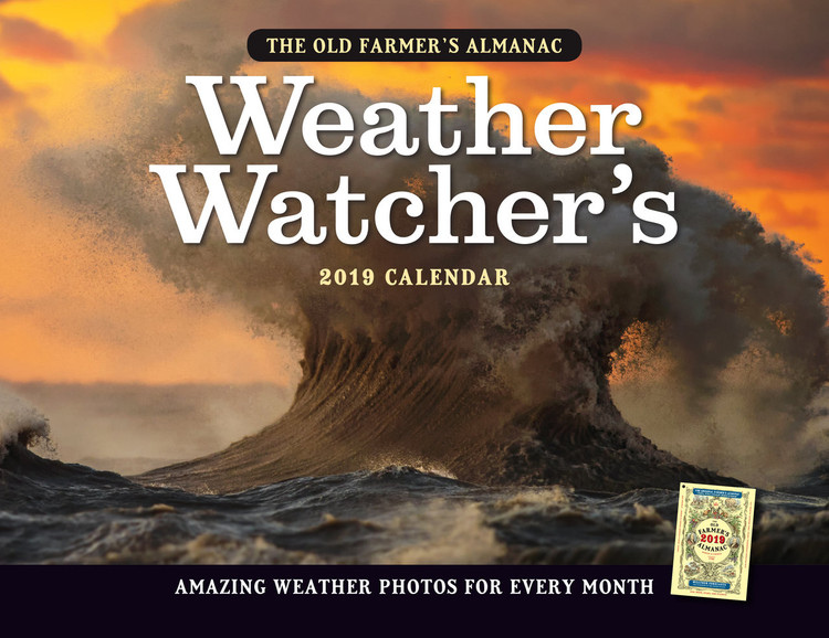 The 2019 Old Farmer's Almanac Weather Watcher's Calendar