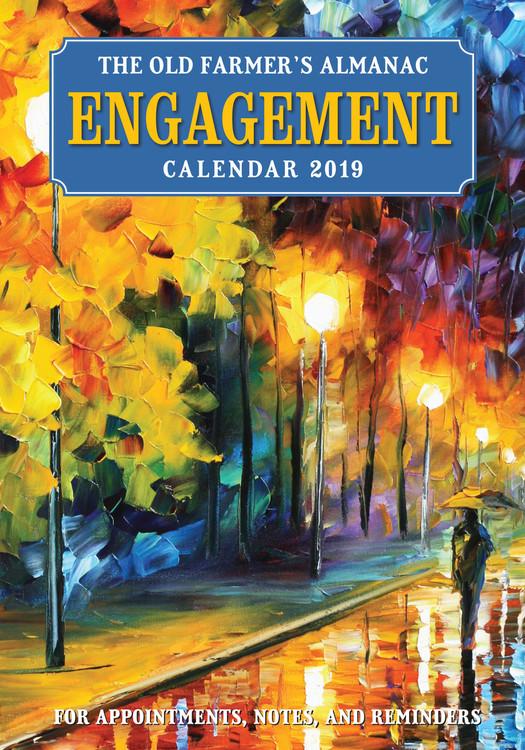 2019 Old Farmer's Almanac Engagement Calendar