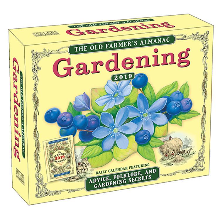 Old Farmer's Gardening Page-A-Day Desk Calendar