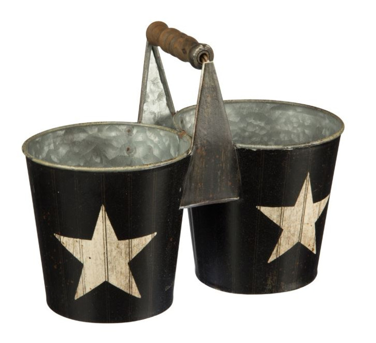 Country Star Bucket Caddy