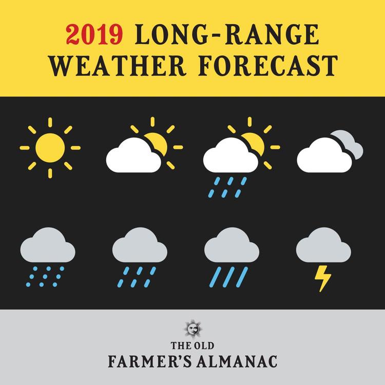 2019 U.S. Long-Range Weather Forecast
