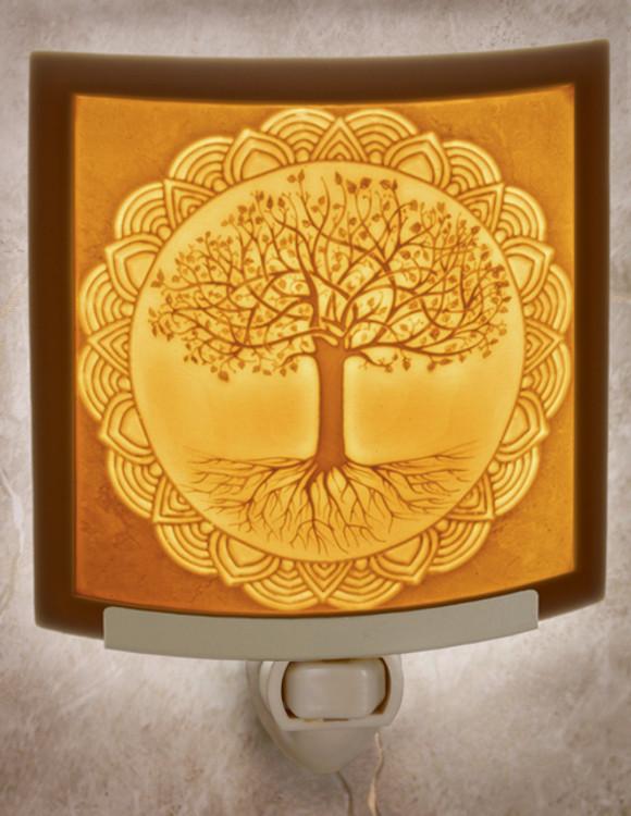 Lithophane Night Light - Tree of Life