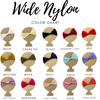 Wide Nylon Colors