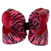 Hot Pink and Black Zebra