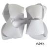 White Glitter Grosgrain Stack
