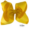 Yellow Glitter Grosgrain Stack