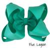 Blue Lagoon Glitter Grosgrain Stack