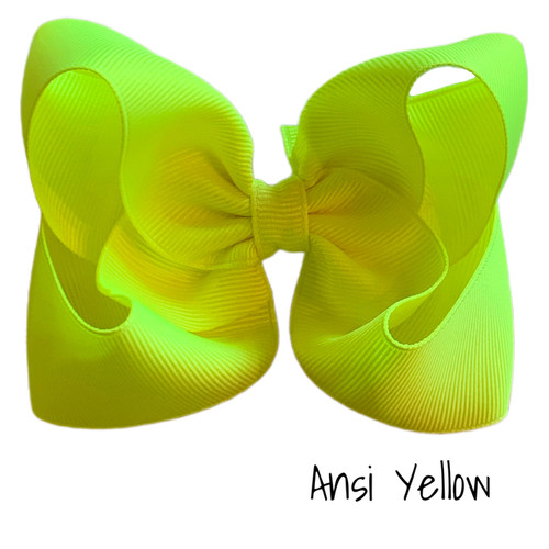 Ansi Yellow Classic Grosgrain