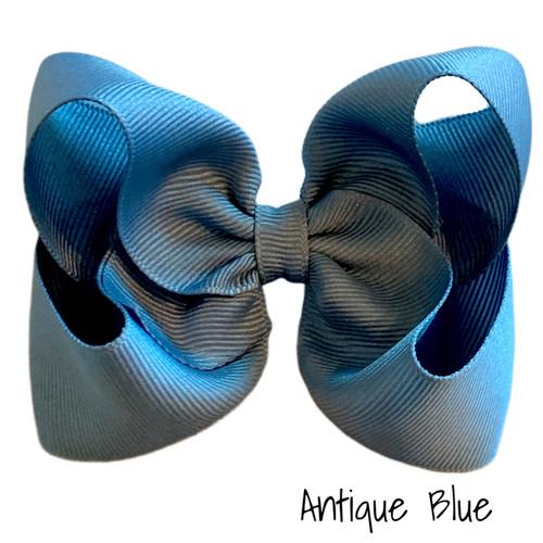 Antique Blue Classic Grosgrain