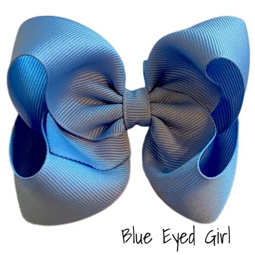 Blue Eyed Girl Classic Grosgrain