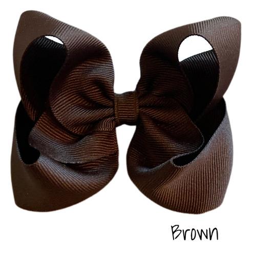 Brown Classic Grosgrain