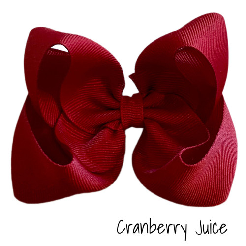 Cranberry Juice Classic Grosgrain