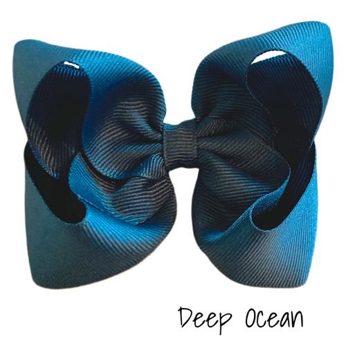 Deep Ocean Classic Grosgrain