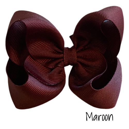 Maroon Classic Grosgrain