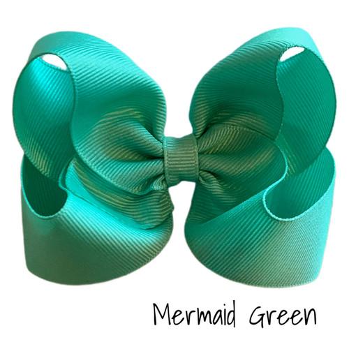 Mermaid Green Classic Grosgrain
