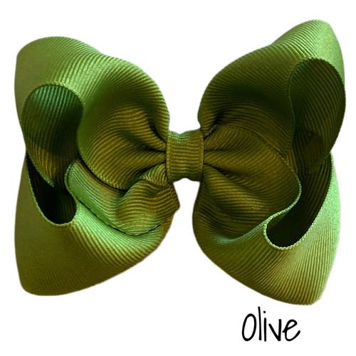 Olive Classic Grosgrain