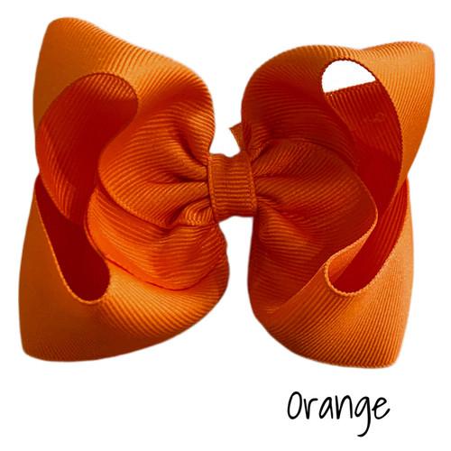 Orange Classic Grosgrain